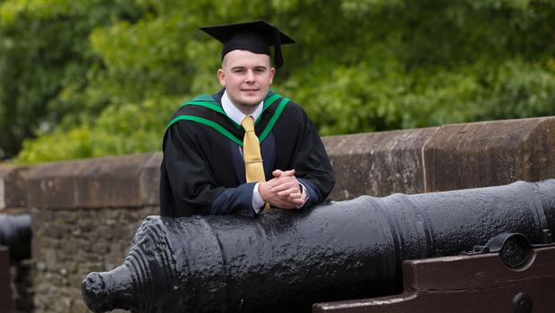 Shaun Haw (23) from Mayobridge, Co Down graduated with a BSc Hons in Accounting and Advertising from Ulster University on Monday 10th July.