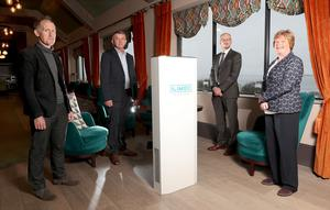 Richard McCauley and Gerry Corrigan, Ilimex, Dr Patrick Dunlop, Ulster University and Dr Vicky Kell, Invest NI