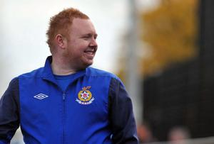 Rectory Rangers manager Lee Winter
