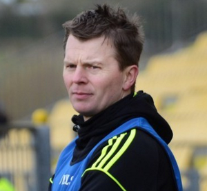 Out Cup: Ardal McDermott's men wilted in the second half
