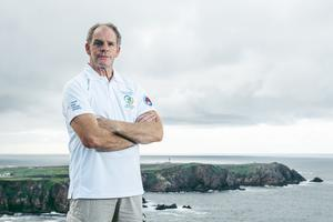 Henry O'Donnell will attempt an expedition to Finswim around the Island of Ireland in an effort to become the first person in history to circumnavigate a country by Finswimming. (Rory O'Donnell/PA)