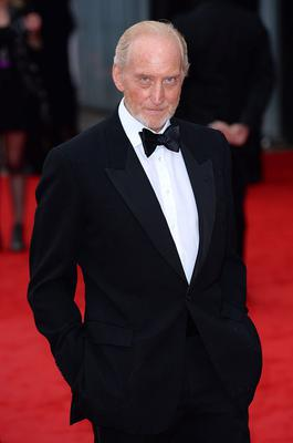Charles Dance arriving for the 2013 Arqiva British Academy Television Awards at the Royal Festival Hall, London. PRESS ASSOCIATION Photo. Picture date: Sunday May 12, 2013. See PA story SHOWBIZ Bafta. Photo credit should read: Dominic Lipinski/PA Wire