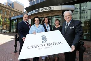 The new hotel will be called the Belfast Grand Central Hotel