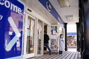 Boots operating with social distancing measures in place (Morgan Harlow/PA)