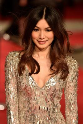 British actress Gemma Chan poses on arrival for the BAFTA British Academy Film Awards at the Royal Opera House in London on February 14, 2016.   AFP / NIKLAS HALLE'NNIKLAS HALLE'N/AFP/Getty Images
