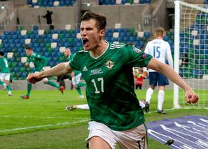 Norther Ireland's Paddy McNair provided the cross for Milan Skriniar to turn the ball into his own goal and force extra-time.