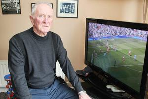 Harry Gregg, former Manchester United goalkeeping legend- OBE for services to Football.  PICTURE MARK JAMIESON.