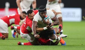 Maro Itoje took a lot out of his meeting with Sir Alex Ferguson (David Davies/PA)