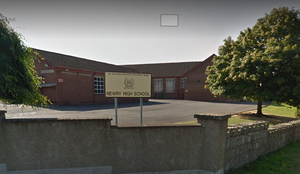 Newry High School in Co Down.