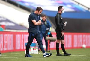 Chelsea manager Frank Lampard was unable to guide his side to victory at Wembley (Adam Davy/PA)