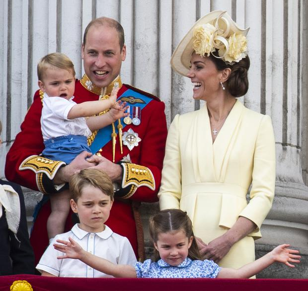 Only Prince George was entitled to be a prince under rules from more than 100 years ago (Victoria Jones/PA)
