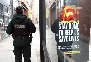 A review has been launched into the PSNI's response to the pandemic. Photo Stephen Davison/Pacemaker Press
