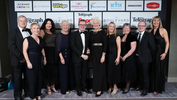 Press Eye - Belfast - Northern Ireland - 20th January  2020   Guests from the Mary Peters Trust pictured at the 2019 Belfast Telegraph Sport Awards at the Crowne Plaza Hotel in Belfast.  Photo by Kelvin Boyes / Press Eye.