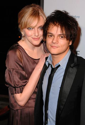 Jamie Cullum with his wife Sophie Dahl