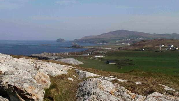 Remote - Malin Head, Ireland's most Northerly point and location for the latest Star Wars movie. Picture James Whorriskey