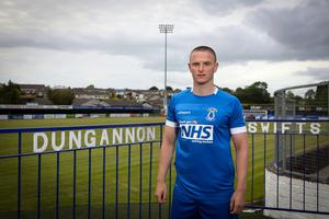 Dungannon Swifts will wear the NHS logo on their shirts throughout the 20/21 season.