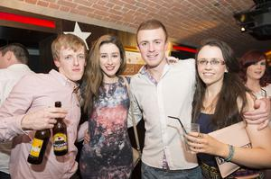 Ollies Christmas pictured Conor MOnaghan, Grainne McKinney, Neil Thompson and Aideen Bradley