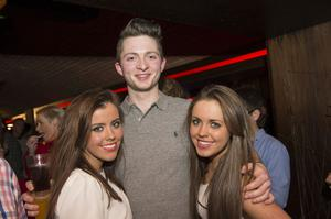 Ollies Christmas pictured Katie McQuillan, Anthony Bergen and anna Becks