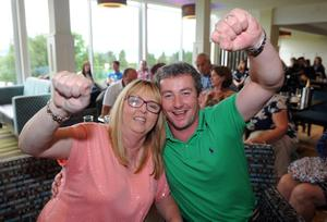 Rory McIlroy wins the British Open at Hoylake, Liverpool and the members at Holywood Golf Club celebrate.