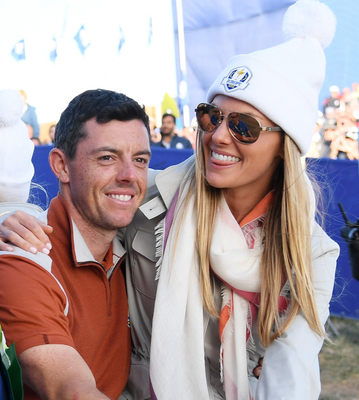 Couple: Rory and Erica McIlroy