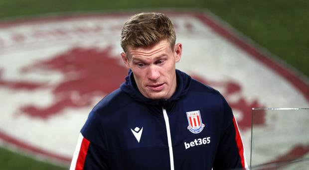 Stoke have condemned the discriminatory chants directed at Republic of Ireland winger James McClean (Richard Sellers/PA)