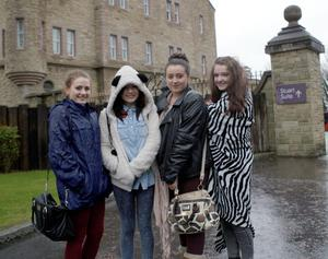 Sunday Life News Young One Direction fans at the Culloden Hotel, Holywood. Picture Colm O'Reilly 09-03-2013