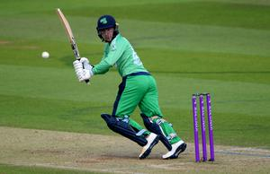 Curtis Campher held the Ireland innings together for the second match running (Mike Hewitt/PA)