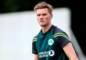 Looking ahead: Nathan Smith is included in the Irish line-up