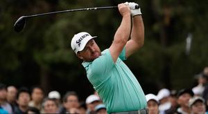 Graeme McDowell endured a tough opening round in Japan.