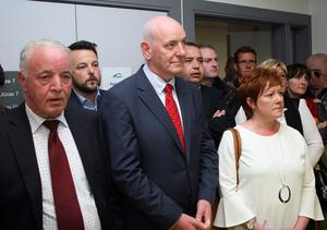 Press Eye - Belfast - Northern Ireland - 8th June 2017 -  Westminster General Election 2017 Mark Durkan (SDLP) pictured at the election count at Foyle Arena Derry for Foyle and East Londonderry. Photo by Freddie Parkinson / Press Eye.