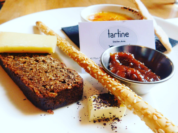 Tartine at the Distillers Arms