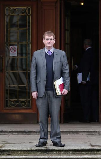 Loyalist campaigner Willie Frazer at Belfast High Court where he was appearing regarding a case he has taken against the Respect MP George Galloway. Picture by Jonathan Porter / Press Eye