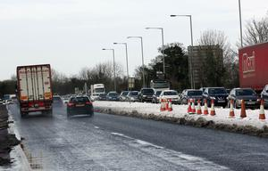 Picture by Freddie Parkinson/Press Eye © Long delays on the A1 at Hillsborough.