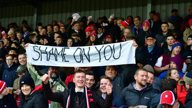 Gloucester fans taunted Saracens earlier this month (Simon Galloway/PA)