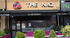 Cafe Naz, on Belfast's Ormeau Road