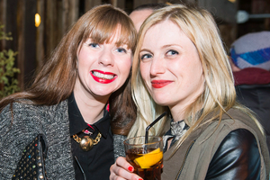 The dirty onion beer garden pictured Katie McKinley and Bronagh Murphy