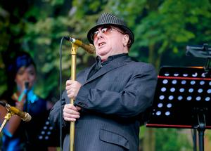 Van Morrison performs at his birthday concert in Cyprus Avenue, East Belfast.Picture - Kevin Scott / Belfast Telegraph