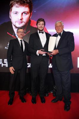 After his storming World Cup for Ireland, the George Best Breakthrough Award is given to Ulster Rugby's Iain Henderson. Picture by Kelvin Boyes/ Press Eye