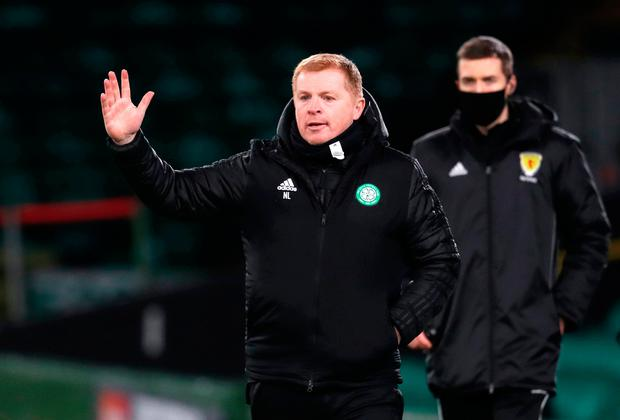 Moved on: Neil Lennon resigned on Wednesday after a challenging season in the Parkhead hotseat