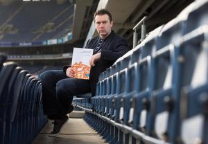 Tackling gambling: Oisin McConville at the launch of the launch of GAA/GPA Gambling Guidelines back in 2014