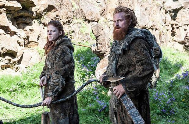 Game of Thrones Ygritte and Tormund prepare for battle HBO