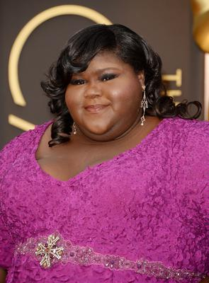 HOLLYWOOD, CA - MARCH 02:  Actress Gabourey Sidibe attends the Oscars held at Hollywood & Highland Center on March 2, 2014 in Hollywood, California.  (Photo by Jason Merritt/Getty Images)