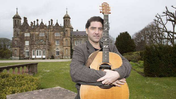 Brian Kennedy visits Glenarm Castle ahead of his gig on Sunday