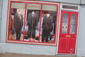 Torrens clothes shop in Bushmills.PICTURE MARK JAMIESON.
