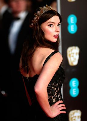 Anya Taylor-Joy attending the EE British Academy Film Awards held at the Royal Albert Hall, Kensington Gore, Kensington, London.  PRESS ASSOCIATION Photo. Picture date: Sunday February 18, 2018. See PA Story SHOWBIZ Bafta. Photo credit should read: Yui Mok/PA Wire.