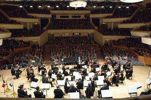 The Ulster Orchestra's Valentine's Night concert on Friday opened appropriately to a packed Ulster Hall with the Balcony Scene from Prokofiev's Romeo And Juliet, though the tenderness of Shakespeare's drama was a little lost by the ensemble's brass and percussion at times outplaying the strings. (stock photo)