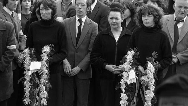 Patsy O'Hara Funeral The harrowed and grief-stricken expression of the lady still seems to me both tragic and sobering.
