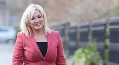 Sinn Fein's Michelle O'Neill said the institutions must be restored on a 'credible and sustainable basis' (Niall Carson/PA)