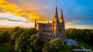 Patrick Hughes captured this stunning shot of Armagh Cathedral