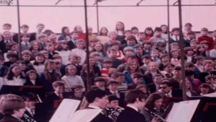 Memories of the past: scenes from the Ulster 71 festival exhibition TV documentary